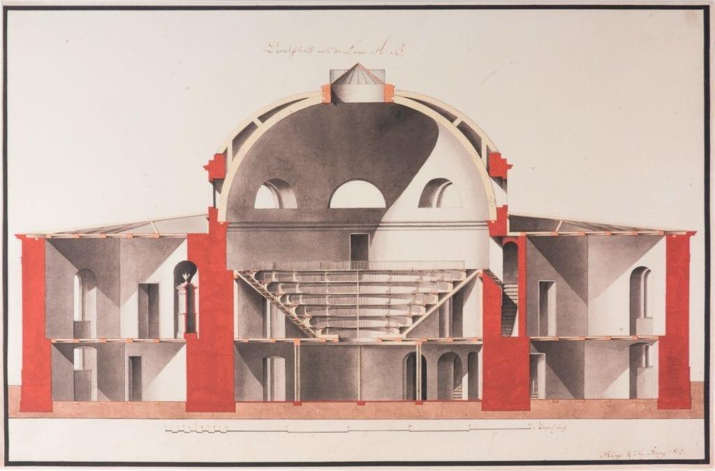 Tieranatomisches Theater, historisches Bild