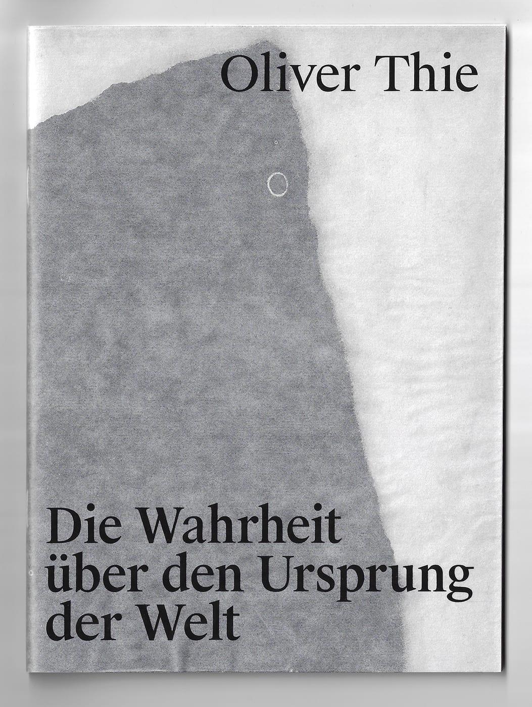 Cover von Sattler/Thie. 2020. Die Wahrheit über den Ursprung der Welt. Berlin: Humboldt-Universität